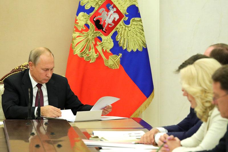 Путин 22 апреля выступит онлайн на климатическом саммите -- Кремль