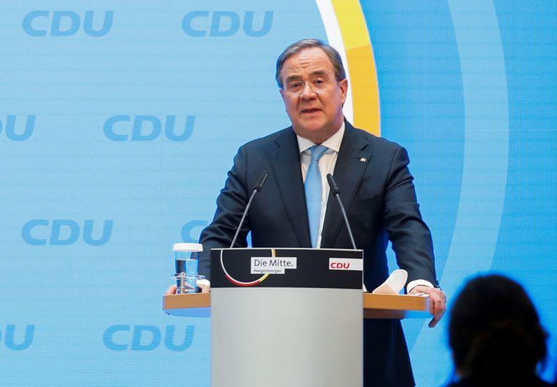Германские консерваторы выдвинут Лашета на пост канцлера после ухода Меркель