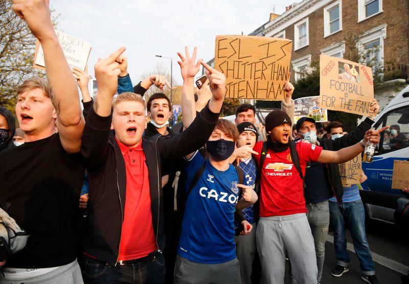 Английские клубы покинули Суперлигу, проект под угрозой срыва