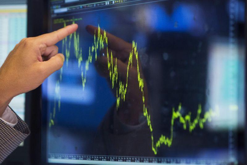 Российский рынок акций начал торги в небольшом плюсе