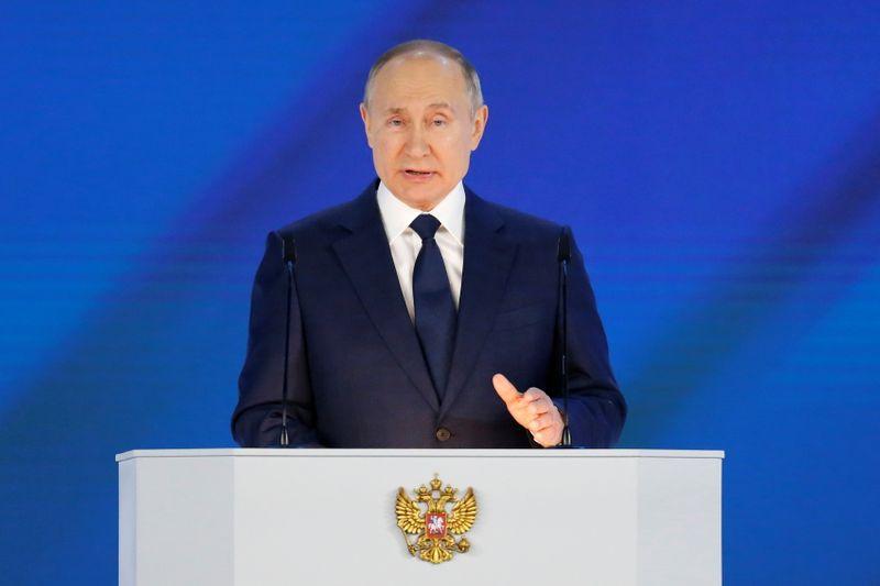 ПРЯМАЯ РЕЧЬ-Послание президента РФ Владимира Путина Федеральному собранию