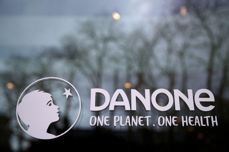 Продажи Danone во 2 кв превысили прогнозы