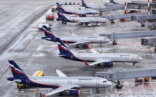 «Аэрофлот» опроверг сообщения о прекращении полетов в 26 городов России