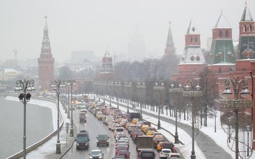 На московских таксистов пожаловались в прокуратуру из-за цен в снегопады