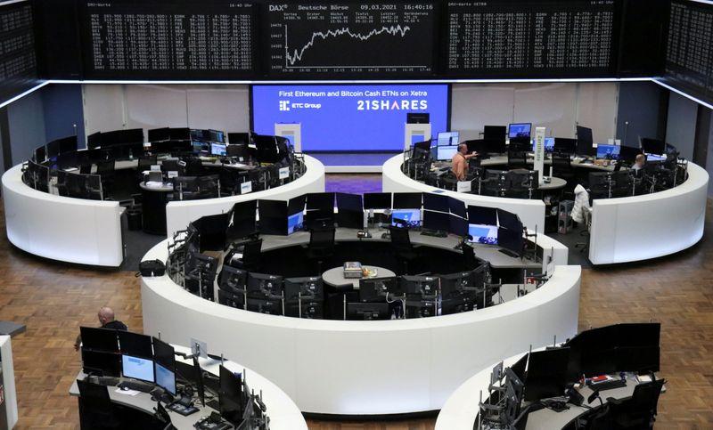 Европейские акции вернулись к росту после снижения из-за опасений об инфляции
