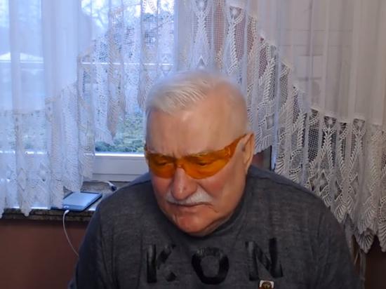 Лех Валенса записал прощальное видеообращение из больницы