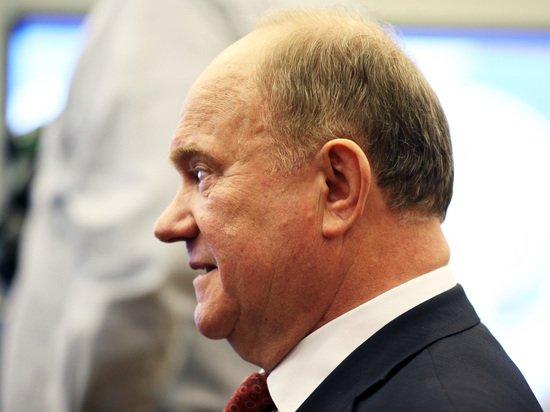 Зюганов поделился тревогой о грядущем дефолте