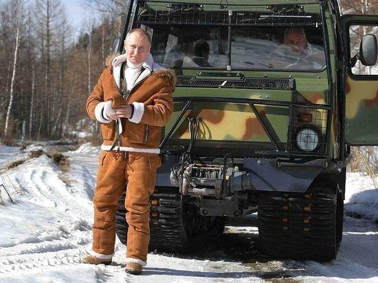 Американский модный критик похвалила Путина за фотосессию в тайге