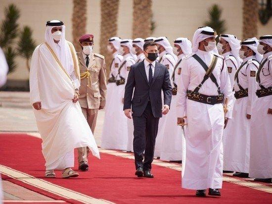 Делегация Зеленского опозорилась в Катаре