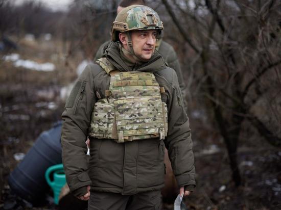 Названы мотивы Зеленского возобновить войну в Донбассе