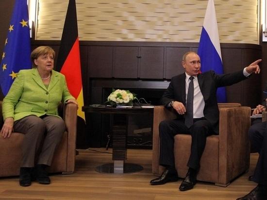 Путин ответил Меркель на призыв не стягивать войска к Украине