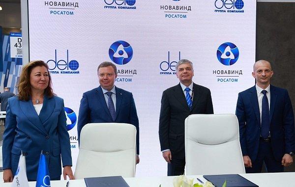 ГК «Дело» и «Росатом» переводят портовые терминалы в Новороссийске на энергию ветра