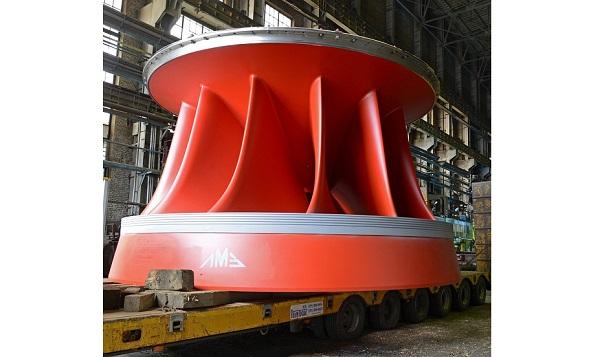 «Силовые машины» доставили второе рабочее колесо гидротурбины на Усть-Среднеканскую ГЭС