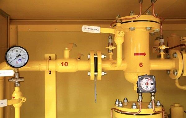 В Астраханской области введен в эксплуатацию новый газопровод