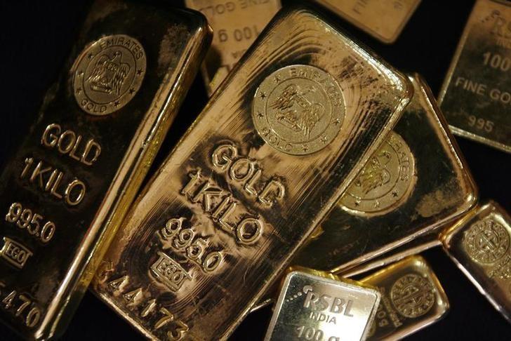 Фьючерсы на золото подорожали во время европейской сессии