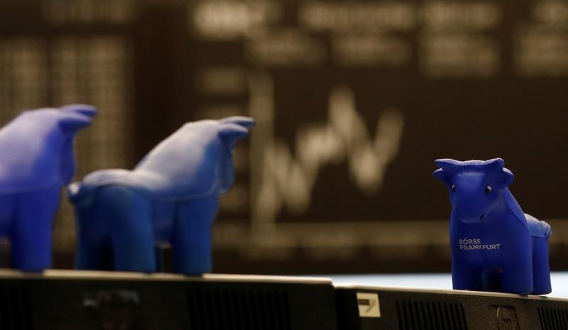 Европейский рынок достиг новых рекордов в начале торгов
