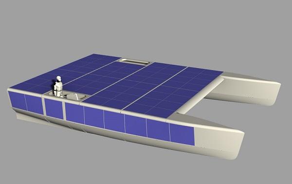 Федор Конюхов осуществит первый одиночный переход через Тихий океан на катамаране с солнечными модулями