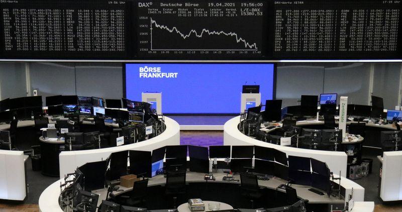 Европейские акции растут благодаря техсектору