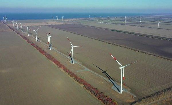 1 мая 2021 года на ОРЭМ поступят первые киловатты «зеленой» энергии Азовской ВЭС