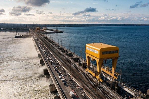 Волжская ГЭС снижает расходы воды