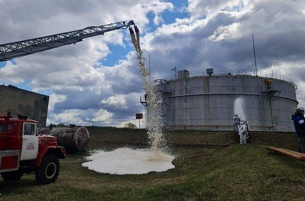 На Шатурской ГРЭС состоялись учения по ликвидации аварийного разлива нефтепродуктов