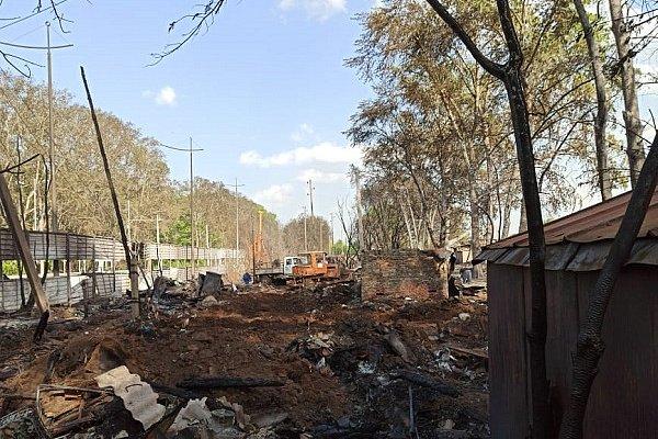 Энергетики «Пермэнерго»  приняли участие в ликвидации последствий пожара в деревне Ванюки