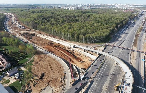 В Новой Москве на участках строительства дублера МКАД переустроят электросети