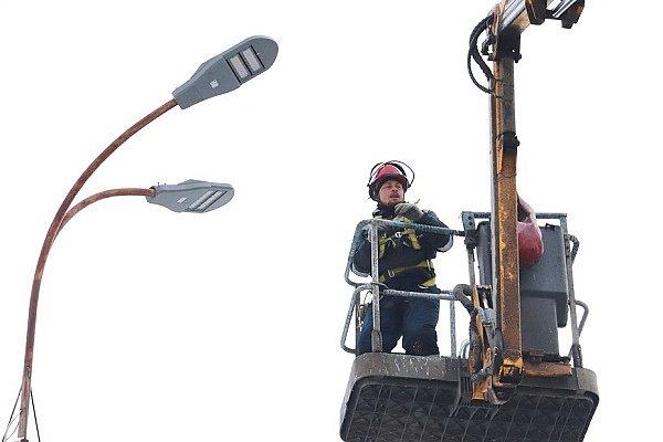 «Удмуртэнерго» модернизирует уличное освещение Ижевска