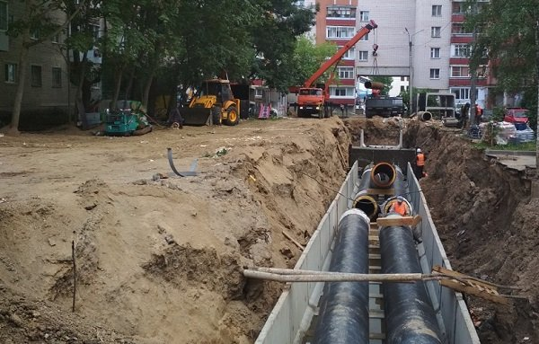 «Квадра» заменила в Смоленске почти 1,5 км трубопроводов