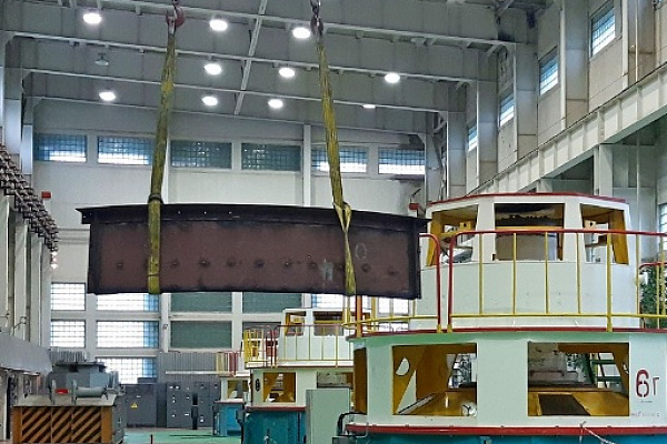 На Каскаде Вилюйских ГЭС завершен капитальный ремонт гидроагрегата