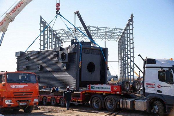 Т Плюс начала монтаж оборудования новой котельной для Универсиады в Екатеринбурге