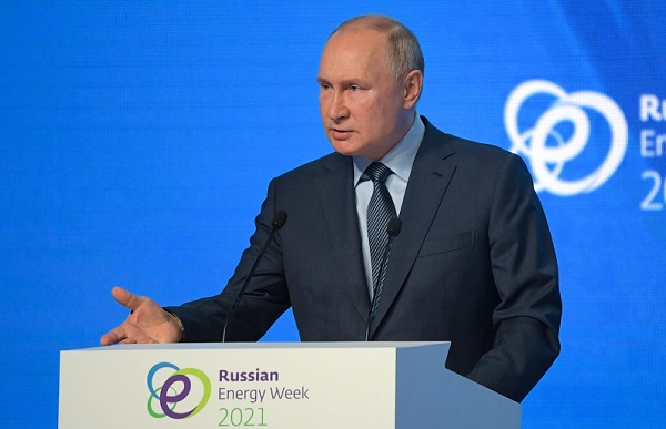 Владимир Путин: Рост цен на газ в Европе стал следствием дефицита электроэнергии, а не наоборот
