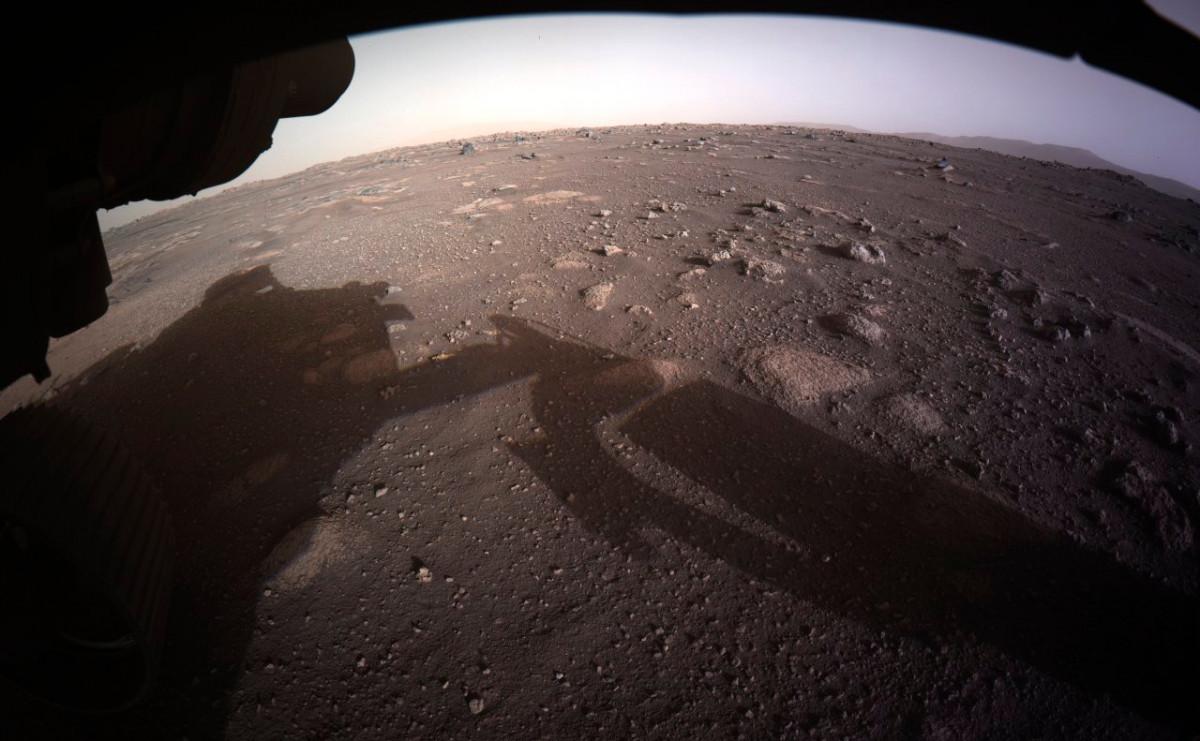 NASA опубликовало видео посадки ровера Perseverance на Марс