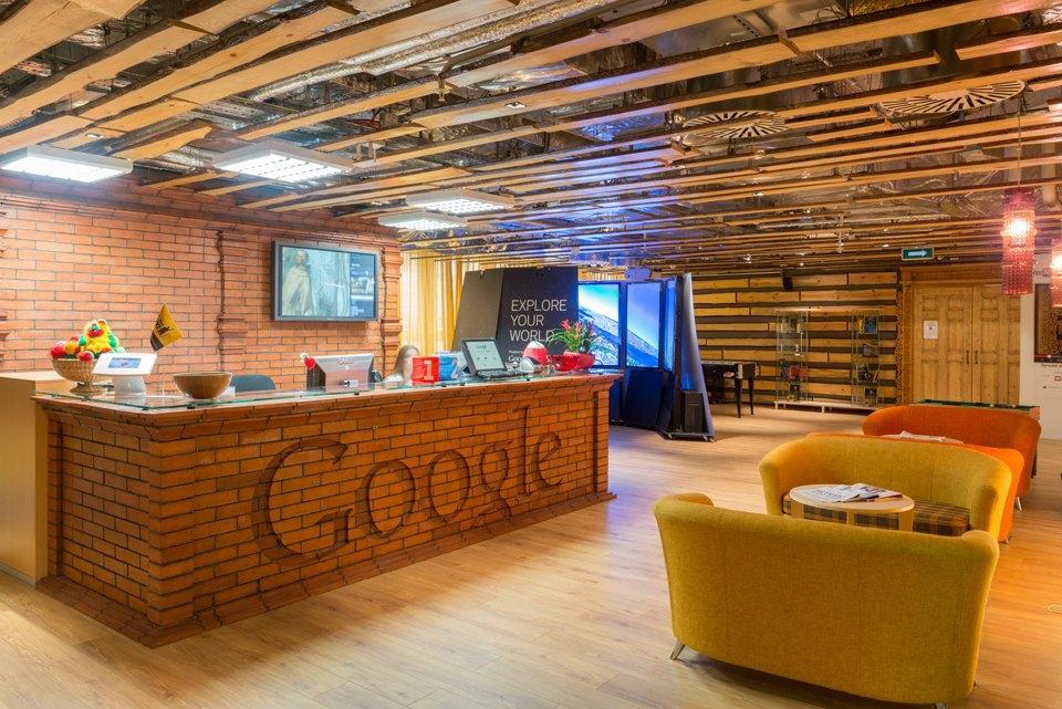 Google переезжает в уютный офис
